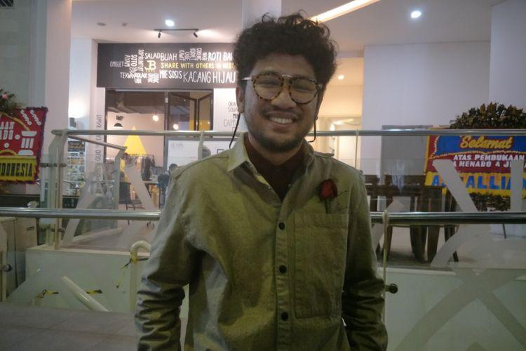 Kunto Aji setelah tampil dalam Java Jazz on the Move di Epicentrum Walk, Jakarta Selatan, Kamis (15/2/2018).