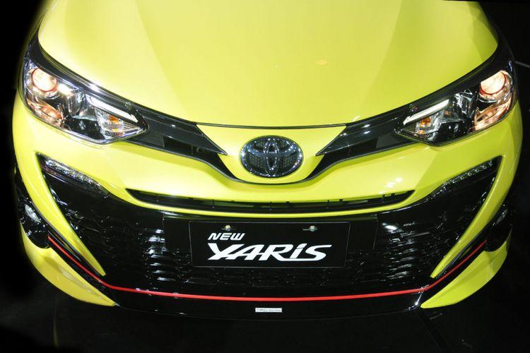 Tampang Toyota New Yaris 2018.
