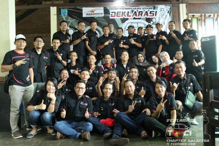 Toyota Etios Valco Club Indonesia (TEVCI) meresmikan chapter baru, Salatiga, pada Sabtu (17/2/2018).