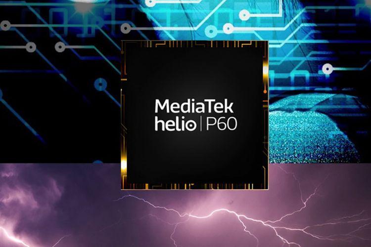 Ilustrasi SoC MediaTek Helio P60.