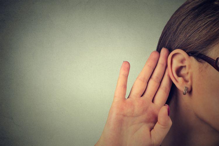 Ilustrasi mendengar