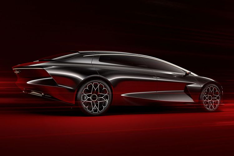 Aston Martin Lagonda Vision Concept 2018.