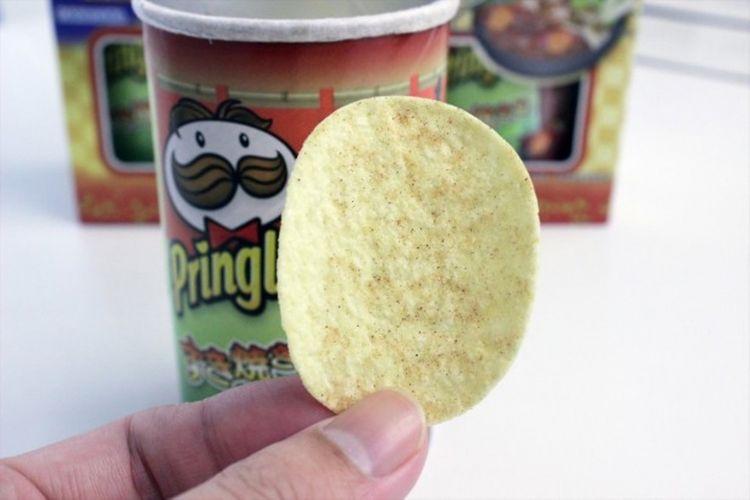 Pringles rasa sukiyaki