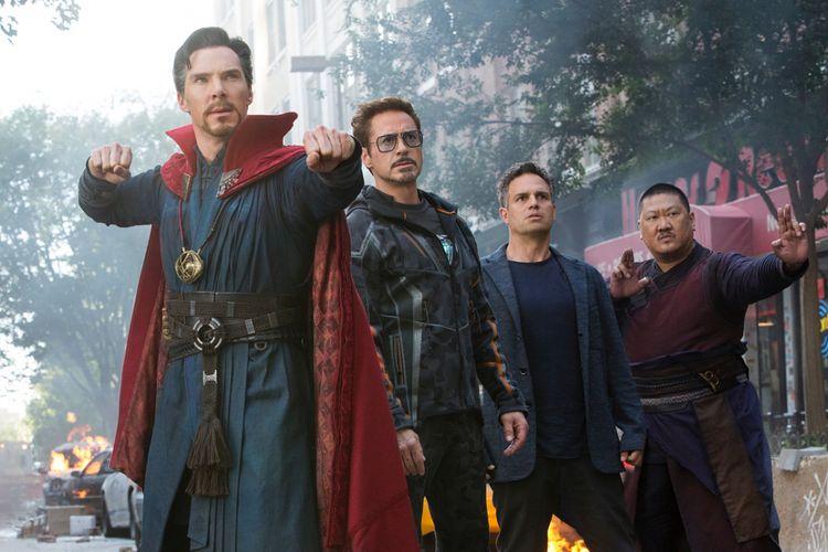 Baru-baru ini, akun resmi Marvel Studios mengirimkan 9 buah gambar yang disinyalir merupakan cuplikan film ketiga dari kelompok superhero Avengers dalam Avengers: Infinity War.