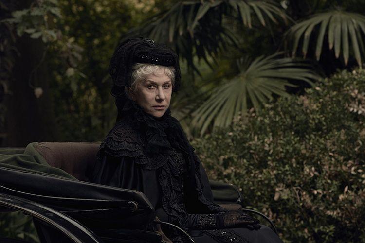 Helen Mirren dalam Winchester (2018).