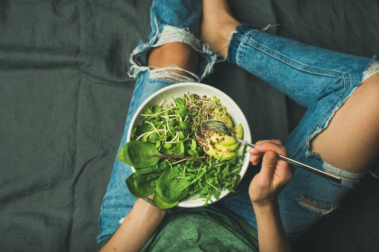 Illustration of healthy food