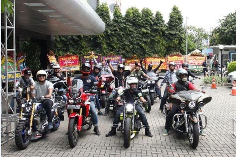 Kegiatan Jakarta Motogarage Bangga Bermotor 2018.