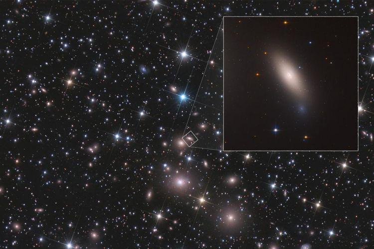 Teleskop hubble tangkap galaksi kuno yang sangat unik kompas