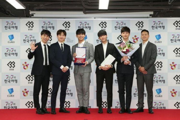 Boyband asal Korea Selatan Born to Beat (BTOB) diresmikan Korea Tourism Board (KTO) menjadi Duta Kehormatan Pariwisata Korea Tahun 2018.