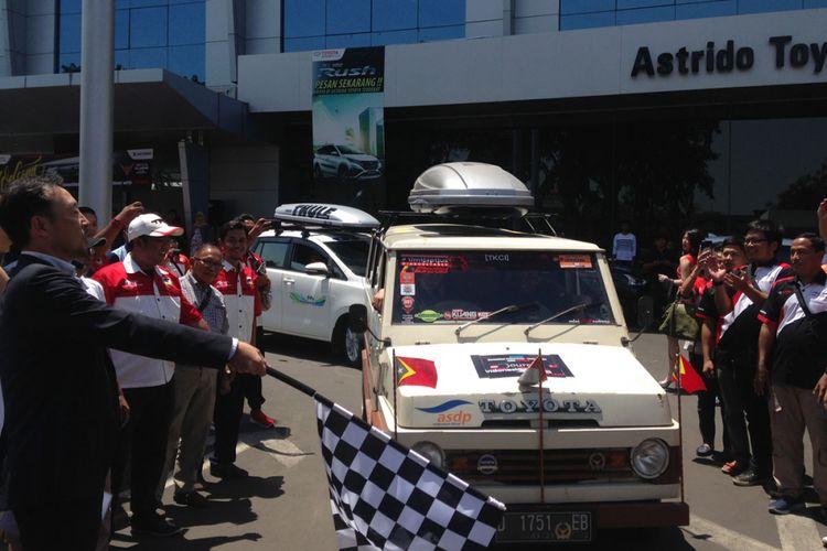 Touring pengguna Toyota ke Timor Leste.
