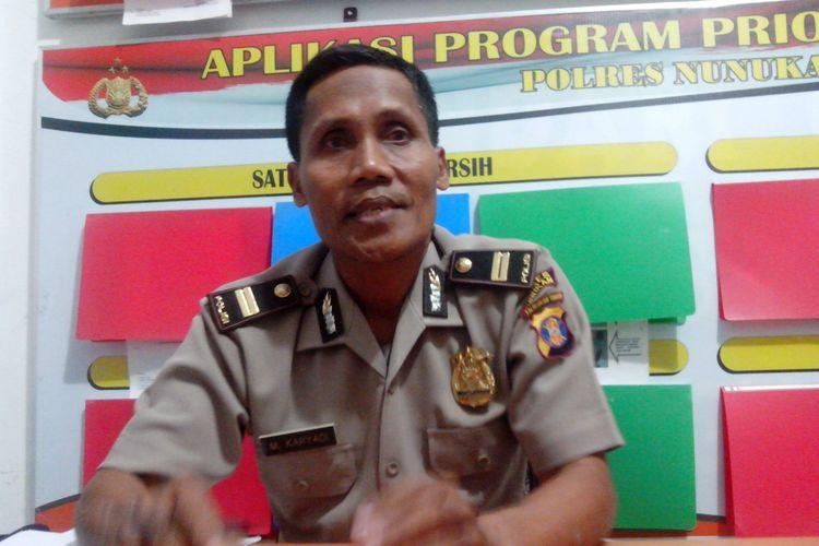 Kasubag Humas Polres Nunukan Iptu M Karyadi