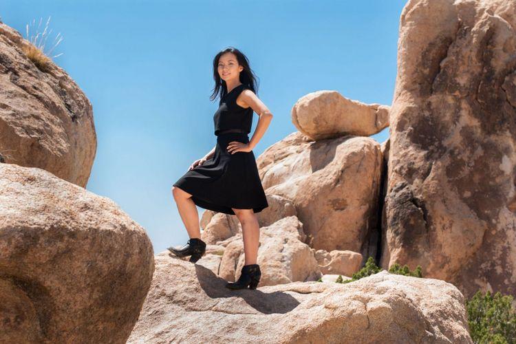 Sutradara asal Indonesia yang kini berkiprah di Hollywood, Livi Zheng.