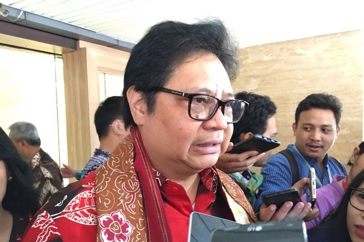 Menteri Perindustrian Airlangga Hartanto
