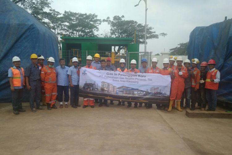 Pasok Gas Bumi ke Karawang, PGN Bantu Industri Hemat Biaya Bahan Bakar