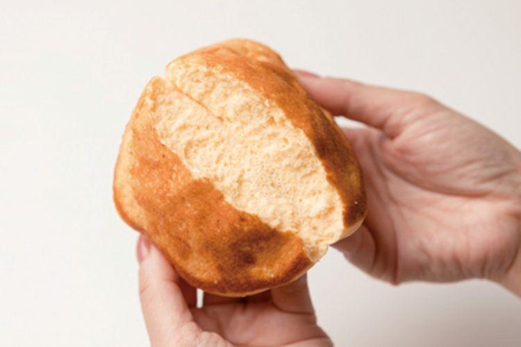 tekstur lembut dari pancake