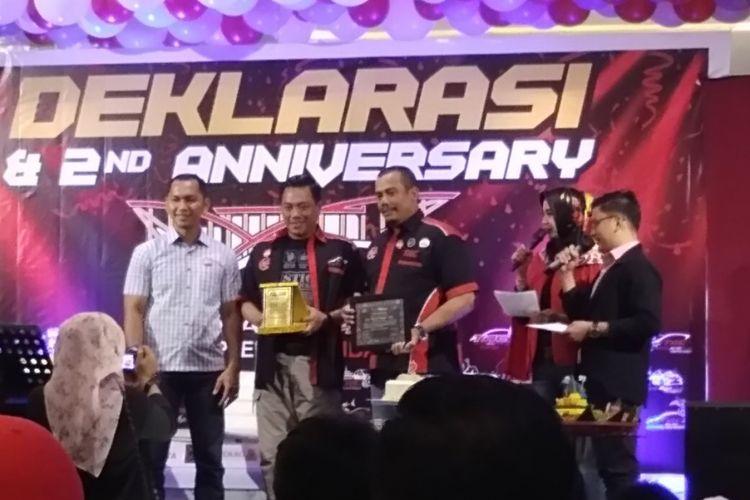 Toyota Agya Club chapter Pekanbaru resmi berdiri, pada Sabtu (14/4/2018).