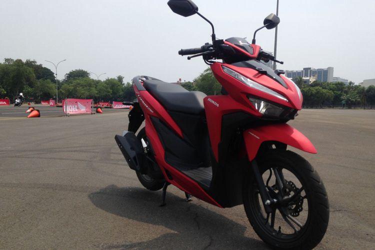 Honda Vario 150 Dan 125 Kini Tanpa Kick Starter Kompas Com