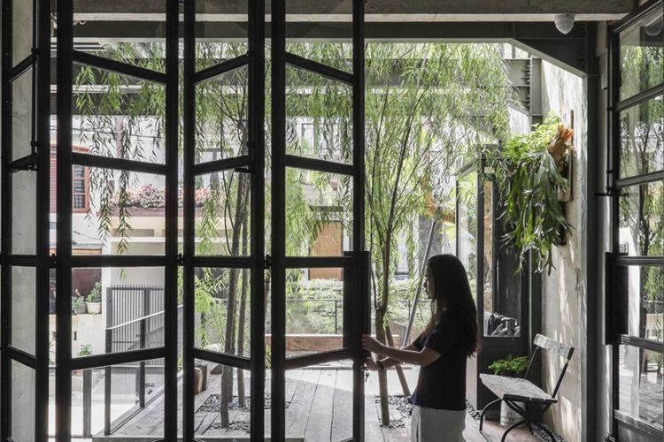 Jendela Aa Residence di Cimanggis Raya karya Bitte Design Studio.