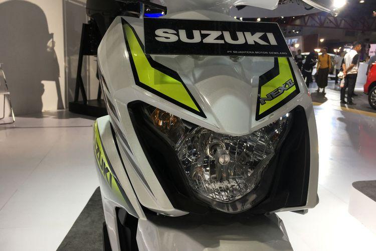 Suzuki Nex II varian Sporty Runer di IIMS 2018.