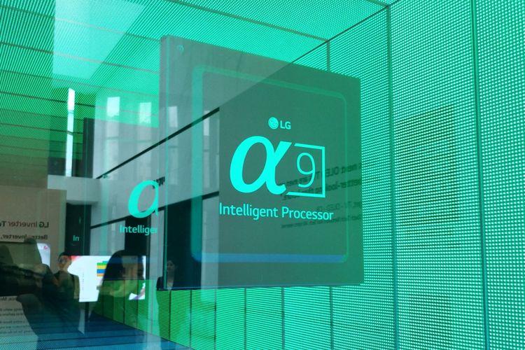 Prosesor Alpha 9 di lini TV OLED LG keluaran 2018.