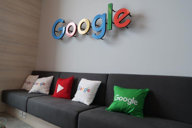Ruang santai di Kantor Google Indonesia.