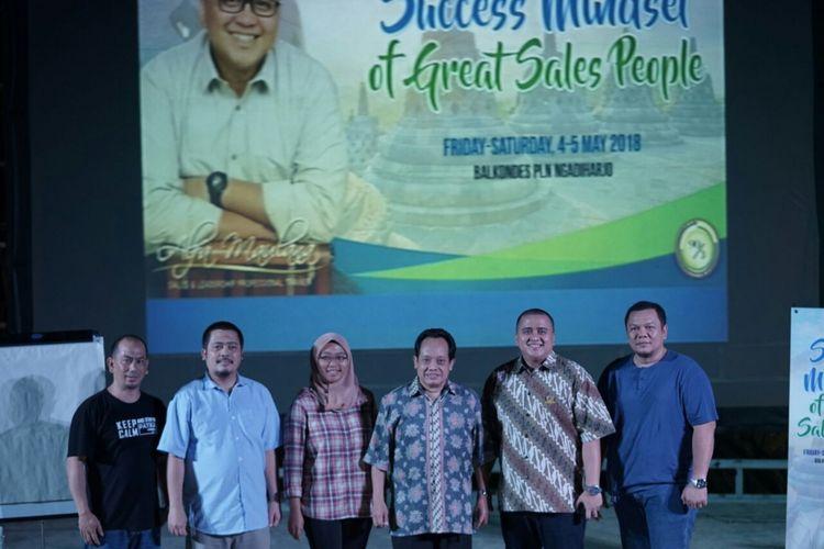 PT.  Patra Jasa menggelar Training Success Mindset of Great People di Balai Ekonomi Desa (Balkondes) Ngadiharjo,  Kecamatan Borobudur,  Kabupaten Magelang, Jawa Tengah.