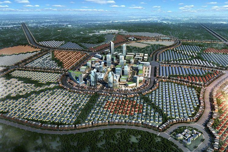 CBD Millennium City, Serpong, Tangerang Selatan.