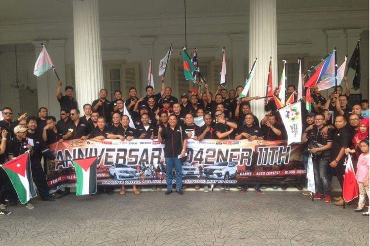 Ulang tahun ke-11 komunitas Fortuner Indonesia.
