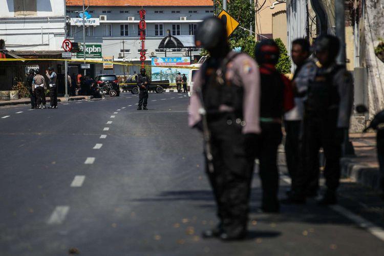 Seusai serangan ke Mapolrestabes Surabaya