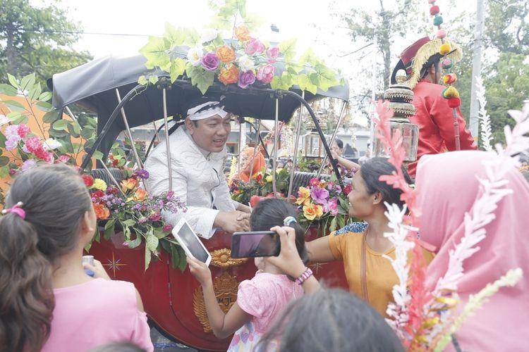 Warga Semarang Sambut Bulan Ramadhan dengan Dugderan