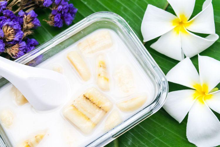 Ilustrasi Kolak pisang