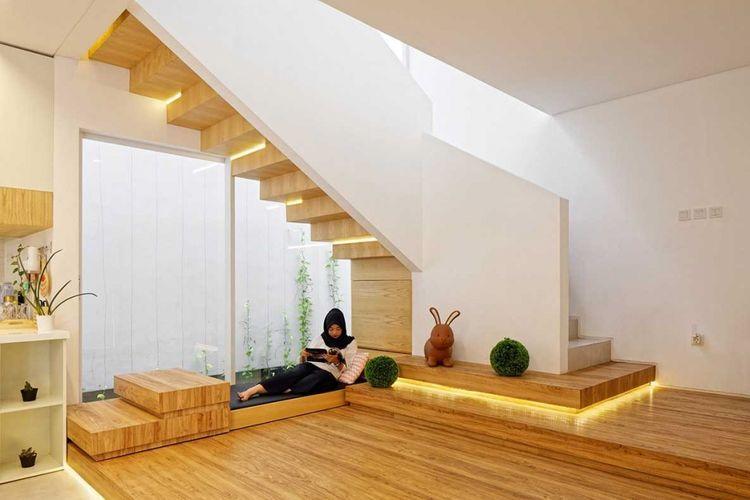 Cover Inset House di Bekasi karya Delution Architect.
