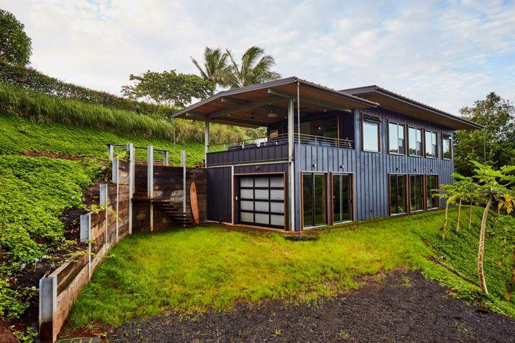Maui, rumah yang mampu ciptakan energi dan memanen air hujan.