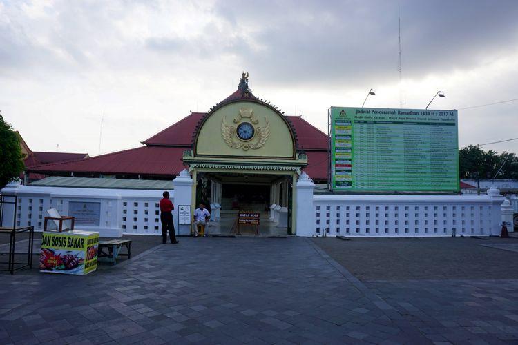Masjid Gedhe Kauman, Yogyakarta.