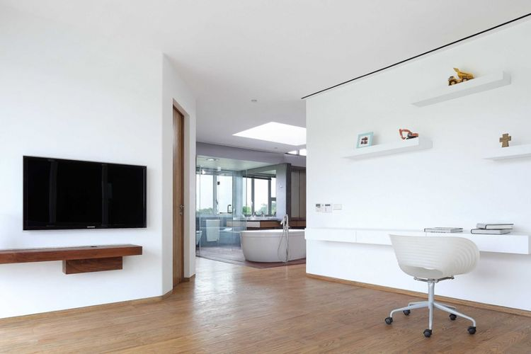Ruang kerja Ss Residence di Tangerang karya Irianto Purnomo Hadi.