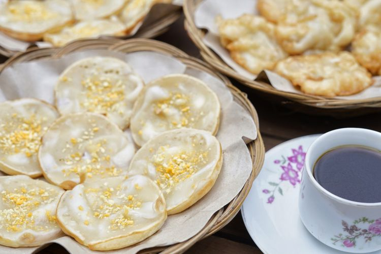 Degan goreng yang cocok dinikmati dengan secangkir kopi
