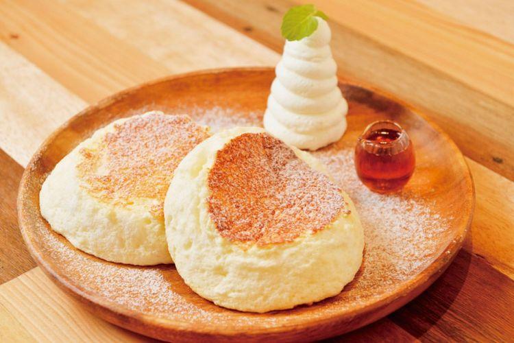 Ricotta Fragrant Souffle Pancake