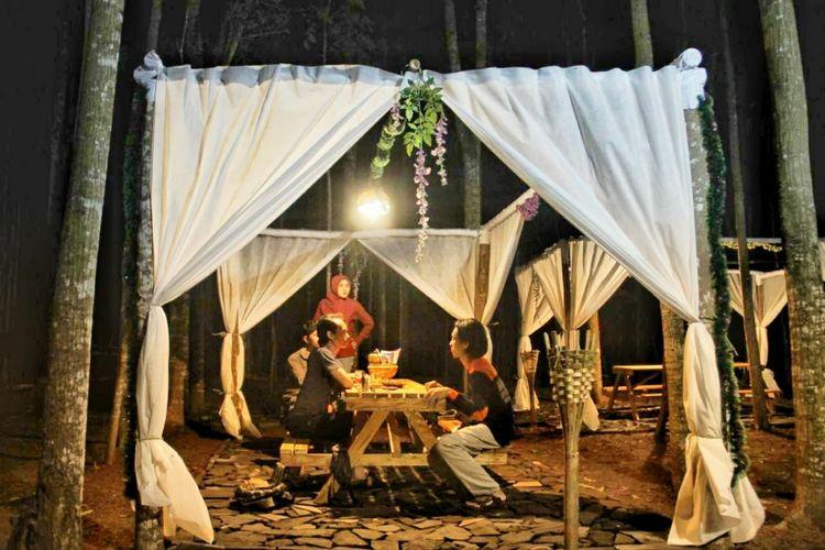 Alas Literasi Banjarharjo di Desa muntuk, kecamatan Dlingo, Bantul (dokumen Pengelola)