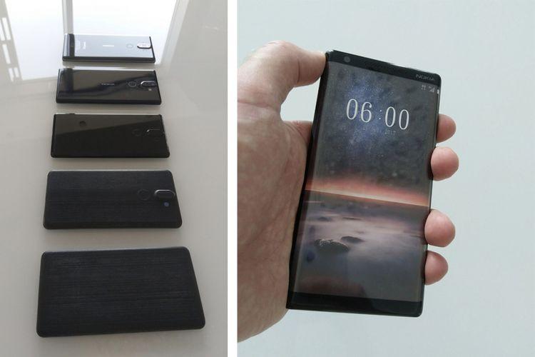 Tahapan pengerjaan prototype Nokia 8 Sirocco dari awal hingga akhir.