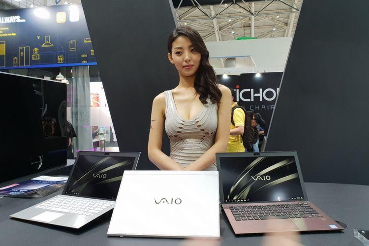 Vaio kembali meluncurkan laptop anyar di ajang Computex 2019, setelah vakum beberapa tahun.