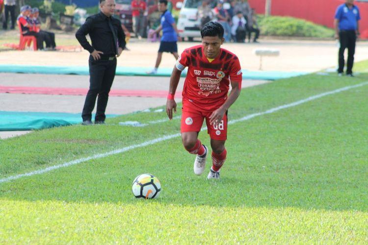 Irsyad Maulana salah satu pemain lokal andalan Semen Padang