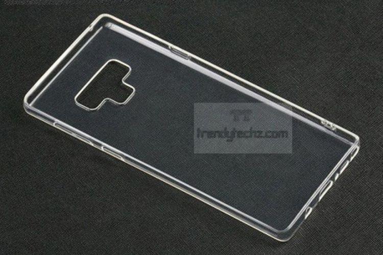 Bocoran foto casing Galaxy Note 9 memperlihatkan tombol baru dan pemindai sidik jari yang dipindah ke bawah modul kamera.