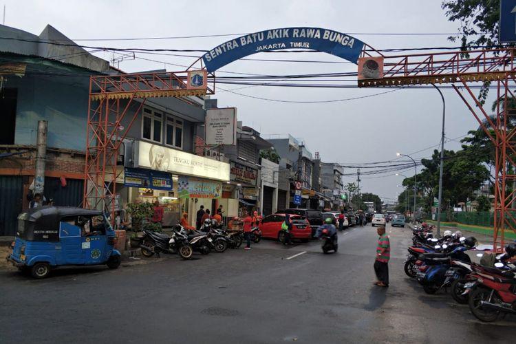 Jalan Bekasi 1 akan dialokasolikan jadi pasar tumpah di malam takbir, Selasa (12/6/2018)