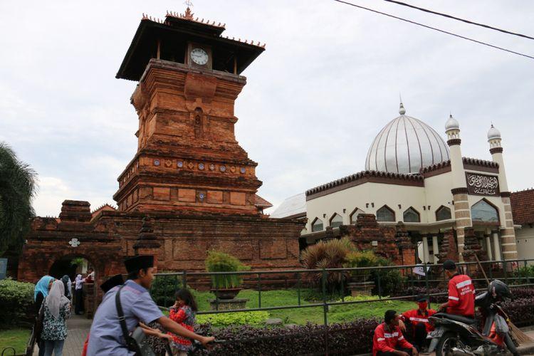 Masjid Menara Kudus, Kabupaten Kudus, Jawa Tengah.