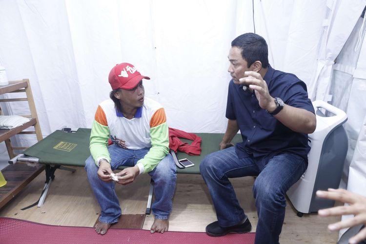Pemudik Sakit di Posko Kesehatan Kota Semarang Dijenguk Wali Kota