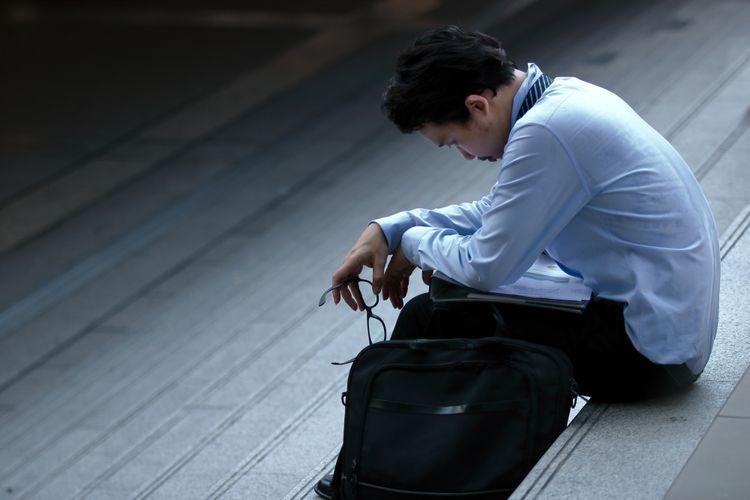 Ilustrasi stres dan gangguan kecemasan