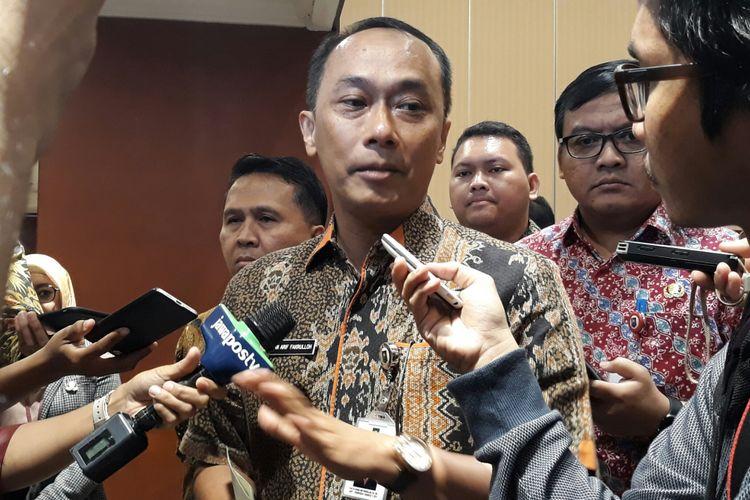 Direktur Jenderal (Dirjen) Kependudukan dan Pencatatan Sipil (Dukcapil) Zudan Arif Fakrulloh di Jakarta, Sabtu (23/6/2018).