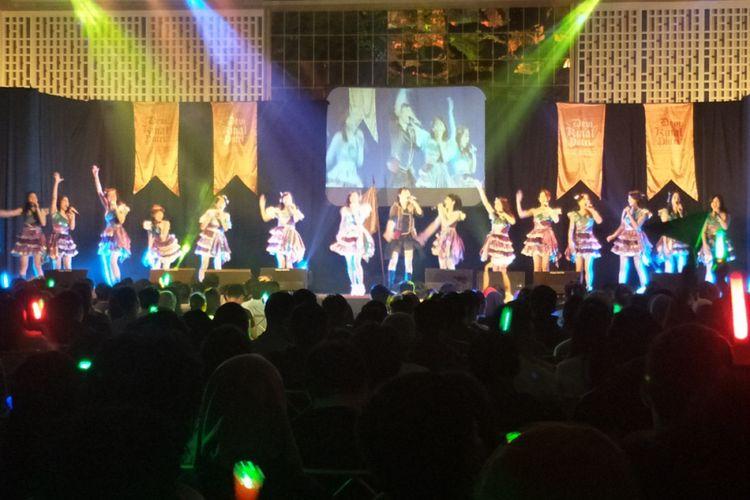 Derai Air Mata di Konser Kelulusan Kinal JKT48