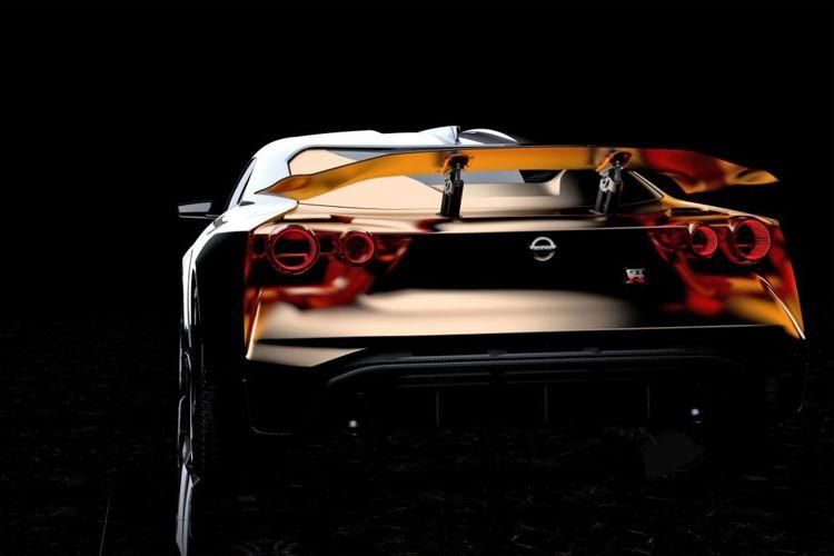 Nissan GT-R50 Prototype.