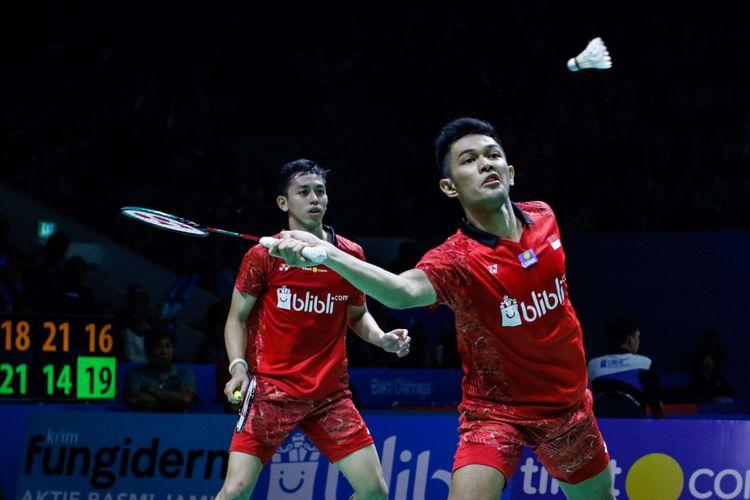 Fajar/Rian Gagal Ikut Jejak Marcus/Kevin ke Semifinal
